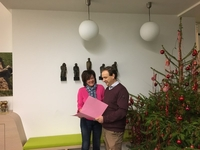 Schepenen Bart Van Doren en Gerda Verhulst